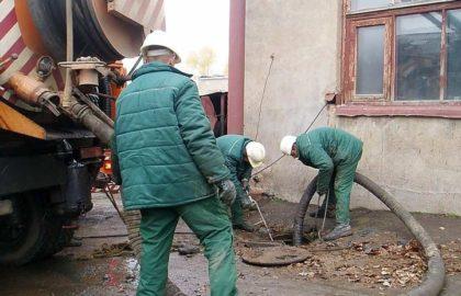 Откачка и реставрация выгребных ям